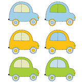 Αυτοκίνητα λευκώματος αποκομμάτων Ελεύθερη απεικόνιση δικαιώματος