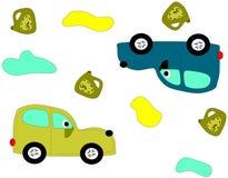 Αυτοκίνητα με τα μάτια Στοκ Εικόνες