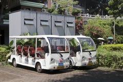 Αυτοκίνητα μπαταριών αποθήκευσης Στοκ Εικόνες