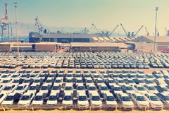αυτοκίνητα νέα στοκ φωτογραφία με δικαίωμα ελεύθερης χρήσης