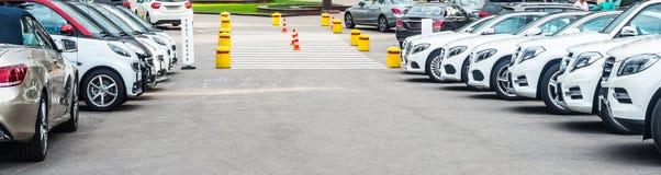 αυτοκίνητα νέα Στοκ εικόνες με δικαίωμα ελεύθερης χρήσης