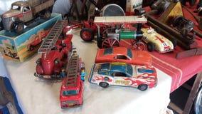 Αυτοκίνητα παιχνιδιών κασσίτερου Στοκ Εικόνες
