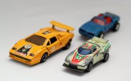 Αυτοκίνητα παιχνιδιών Στοκ εικόνες με δικαίωμα ελεύθερης χρήσης