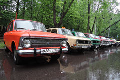 αυτοκίνητα παλαιά Στοκ Εικόνα