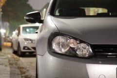 αυτοκίνητα που σταθμεύ&omicro Στοκ Εικόνα