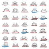 αυτοκίνητα που τίθενται Στοκ εικόνα με δικαίωμα ελεύθερης χρήσης