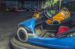 Αυτοκίνητα προφυλακτήρων Στοκ Εικόνες