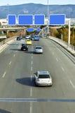 Αυτοκίνητα στην εθνική οδό Στοκ εικόνα με δικαίωμα ελεύθερης χρήσης