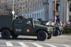 Αυτοκίνητα στρατού Στοκ εικόνα με δικαίωμα ελεύθερης χρήσης