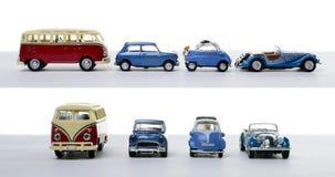 αυτοκίνητα τέσσερα μικρ&omicr Στοκ Φωτογραφίες