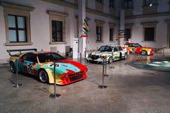Αυτοκίνητα τέχνης της BMW Στοκ Εικόνες