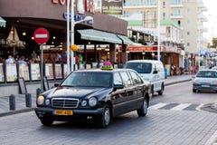 Αυτοκίνητα ταξί στην οδό Στοκ φωτογραφία με δικαίωμα ελεύθερης χρήσης