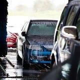αυτοκίνητα carwash Στοκ Εικόνες