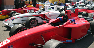 Αυτοκίνητα Grand Prix Α1 Στοκ Εικόνες