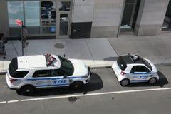 Αυτοκίνητα NYPD Στοκ Φωτογραφία