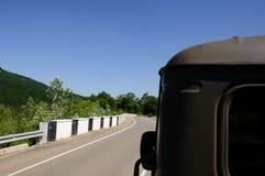 Αυτοκίνητο άποψης frow Στοκ εικόνες με δικαίωμα ελεύθερης χρήσης
