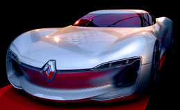 Αυτοκίνητο έννοιας της Renault Trezor Στοκ Εικόνα