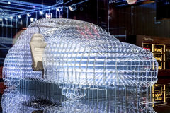 Αυτοκίνητο έννοιας Στοκ Φωτογραφία