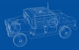 Αυτοκίνητο αγώνα Διανυσματική απόδοση τρισδιάστατου ελεύθερη απεικόνιση δικαιώματος