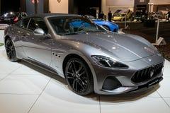 Αυτοκίνητο αθλητικού αθλητισμού GranCabrio Maserati Στοκ εικόνες με δικαίωμα ελεύθερης χρήσης