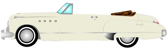 αυτοκίνητο αναδρομικό Στοκ εικόνες με δικαίωμα ελεύθερης χρήσης