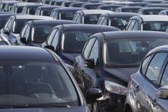 Αυτοκίνητο αποθεμάτων που νοικιάζεται ή που πωλείται Στοκ Εικόνες
