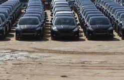 Αυτοκίνητο αποθεμάτων που νοικιάζεται ή που πωλείται Στοκ φωτογραφίες με δικαίωμα ελεύθερης χρήσης