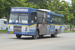 Αυτοκίνητο αριθμός 104 λεωφορείων της Μπανγκόκ Στοκ Φωτογραφία