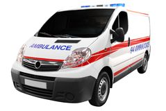 αυτοκίνητο ασθενοφόρων &p Στοκ φωτογραφίες με δικαίωμα ελεύθερης χρήσης