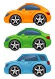 αυτοκίνητο αστείο διανυσματική απεικόνιση