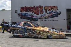 αυτοκίνητο αστείο Στοκ Εικόνα