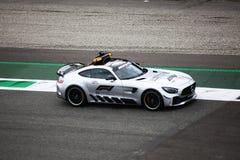 Αυτοκίνητο ασφάλειας σε Monza 2018 στοκ εικόνα με δικαίωμα ελεύθερης χρήσης