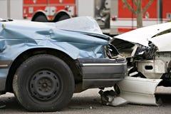 αυτοκίνητο ατυχήματος Στοκ φωτογραφίες με δικαίωμα ελεύθερης χρήσης