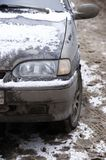 αυτοκίνητο βρώμικο Στοκ Φωτογραφίες