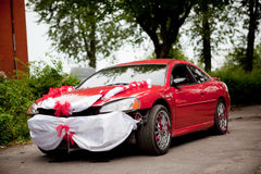 Αυτοκίνητο γάμου γκάγκστερ Στοκ Εικόνες
