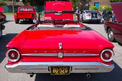 1963 αυτοκίνητο γερακιών της Ford Στοκ εικόνες με δικαίωμα ελεύθερης χρήσης