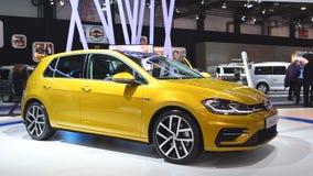 Αυτοκίνητο γκολφ του Volkswagen hatchback φιλμ μικρού μήκους