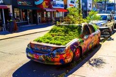 Αυτοκίνητο γκράφιτι Στοκ φωτογραφίες με δικαίωμα ελεύθερης χρήσης