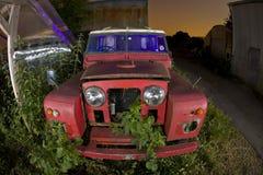 αυτοκίνητο εγκαταλελ& στοκ εικόνες