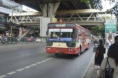 αυτοκίνητο λεωφορείων της Μπανγκόκ Στοκ φωτογραφία με δικαίωμα ελεύθερης χρήσης