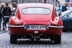 Αυτοκίνητο ε-τύπων ιαγουάρων oldtimer Στοκ φωτογραφία με δικαίωμα ελεύθερης χρήσης