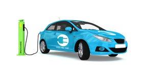 αυτοκίνητο ηλεκτρικό Διανυσματική απεικόνιση