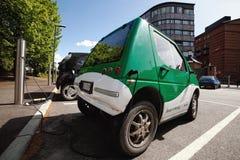 αυτοκίνητο ηλεκτρικό Στοκ εικόνα με δικαίωμα ελεύθερης χρήσης