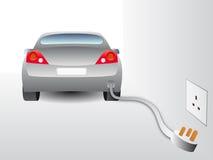 αυτοκίνητο ηλεκτρικό Ελεύθερη απεικόνιση δικαιώματος