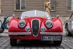 Αυτοκίνητο ιαγουάρων oldtimer Στοκ εικόνες με δικαίωμα ελεύθερης χρήσης