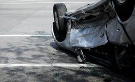 αυτοκίνητο κάτω από την άνω π&l Στοκ Εικόνα