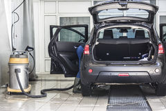 Αυτοκίνητο καθαρό στοκ εικόνες