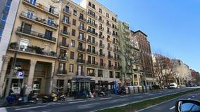 Αυτοκίνητο καμερών λεωφόρων της Βαρκελώνης Paralelo φιλμ μικρού μήκους