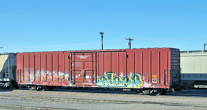 Αυτοκίνητο κιβωτίων φορτίου Στοκ Εικόνες