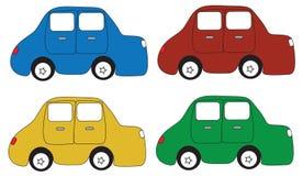 Αυτοκίνητο κινούμενων σχεδίων Στοκ φωτογραφία με δικαίωμα ελεύθερης χρήσης